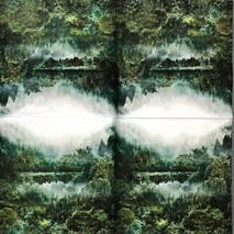 """Салфетка 33*33 см """"Озеро в лесу"""" - Салфетки"""