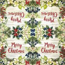 """Салфетка 33*33 см """"Merry Christmas"""" - Салфетки"""