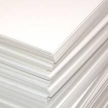 Картон белый пивной, 35х50 см - Картон