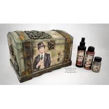 Краска эффект ржавчины Natural Rust Effect paint 120мл, Cadence - Медиумы