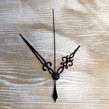 Комплект стрелок, черный (55-80-96) - Для часов (механизмы, стрелки, заготовки)