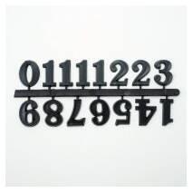 Цифры для часов, 15 мм, 15 шт. - Объемные элементы