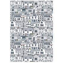 Бумага для декопатча DecoMache «Городок» - Декупажные карты
