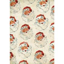 Бумага для декопатча DecoMache «Санта Клаус» - Декупажные карты