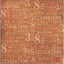 "Рисовая салфетка ""Цифры"", 50х50 см - Декупажные карты"