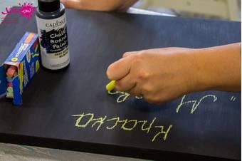 Краска для творчества Chalkboard Paint, 120 мл, Черный - Акрил