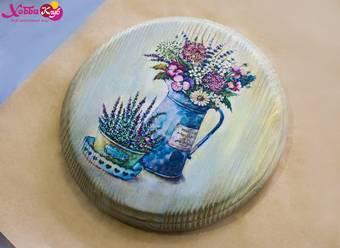 Доска сырная, диаметр 19 см - Другое