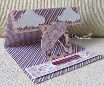 Бумага для скрапбукинга Dovecraft - Berry Blush, 30,5х30,5 см - Бумага для скрапбукинга