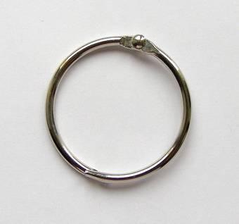 Кольцо металлическое открывающееся, диаметр 38 мм, 1 штука (Rayher) - Инструменты