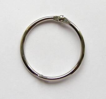 Кольцо металлическое открывающееся, диаметр 32 мм, 1 штука (Rayher) - Инструменты