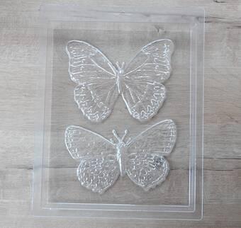"""Пластиковая форма """"Бабочка"""" - Для моделирования"""