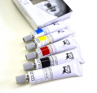 Набор акриловых красок, 20 мл х 5 шт. - Акрил