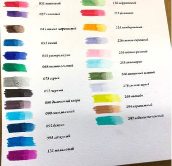 Маркер акварельный Aqua Pen Graphix Marabu - Краски