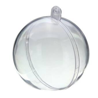 Шар пластиковый, 12 см - Заготовки из пластика