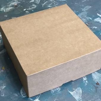 Коробка картонная, 255х255х105 мм - Упаковка