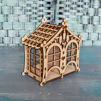 """Заготовка """"Чайный домик двойной"""", 180х92х180 мм - Чайные домики"""