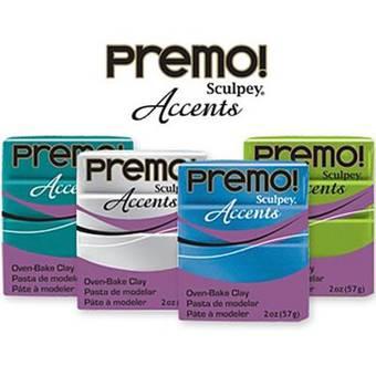 Полимерная глина Premo Accents, 57г - Запекаемая полимерная глина
