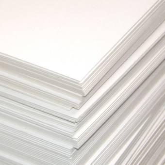 Картон белый пивной, 25х35 см - Картон