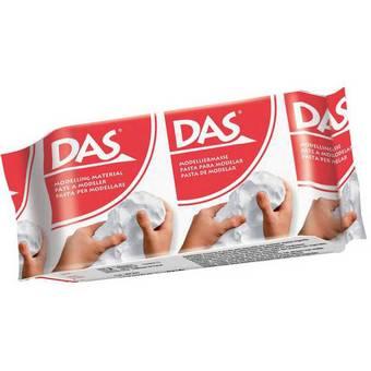 DAS паста для моделирования, упаковка 150 гр, белая - Самоотверд. полимерная глина