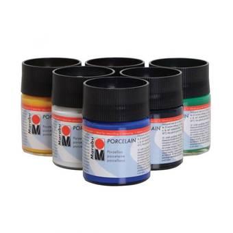Краска по стеклу и керамике Marabu Porcelain 125, 50 мл - Для стекла и керамики