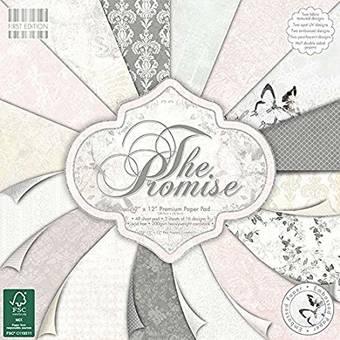 Бумага для скрапбукинга First Edition - The Promise, 30,5х30,5 см - Бумага для скрапбукинга