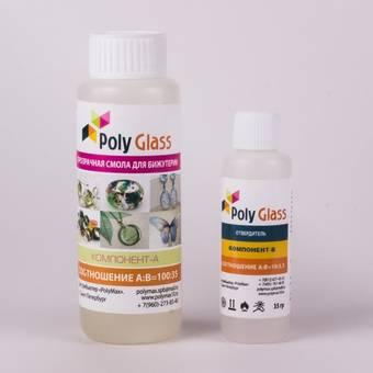 Эпоксидная смола для творчества Poly Glass, 135 гр. - Лаки и медиумы