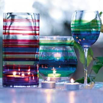 """Краска витражная, на сольвентной основе, """"Glas Art"""", 15 мл - Для стекла и керамики"""