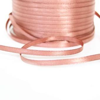 Лента атласная, двухсторонняя, 3 мм - Ленты, ткани