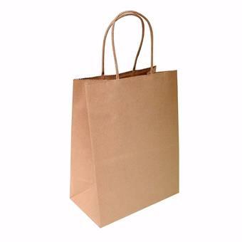 Пакет бумажный крафт 240х140х280 мм - Упаковка