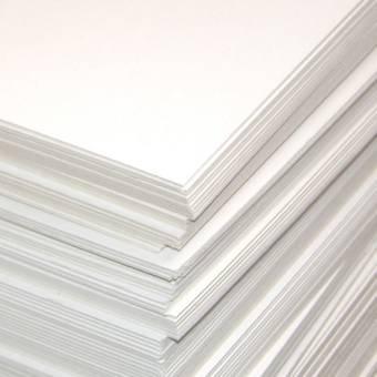 Картон белый пивной, 30*30 см - Картон