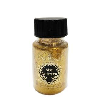 Глиттер (блестки) золото инков, 45 мл - Восковые пасты