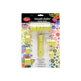 Пластиковый Ролик с ручкой Mosaik-roller от VIVA - Инструменты