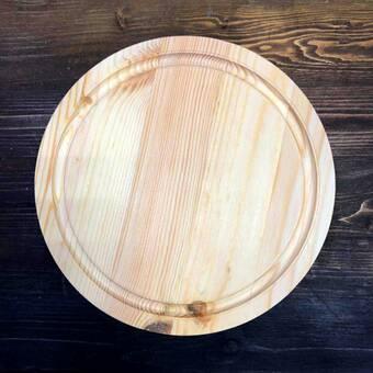 Доска сырная c фаской, диаметр 25 см - Другое