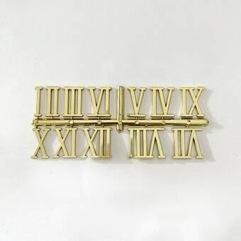 Цифры для часов римские, 30 мм, 12 шт. - Объемные элементы