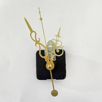 Часовой механизм №20 с петлей и фигурными стрелками - Основы для часов