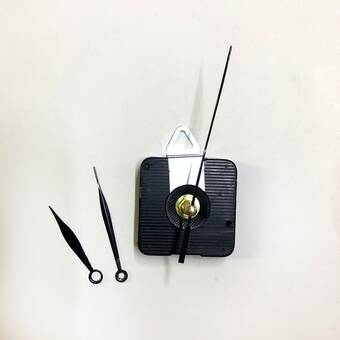 Часовой механизм №10 с петлей и фигурными стрелками - Основы для часов