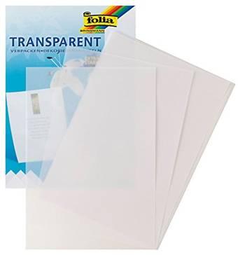 Прозрачная бумага, калька, белая, Folia - Бумага