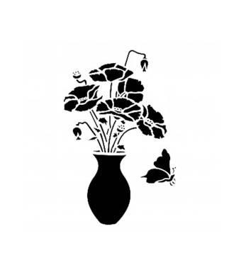"Трафарет ""Цветок"", 15*20 см - Трафареты"