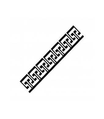 """Трафарет """"K50"""", 6*20 см - Трафареты"""