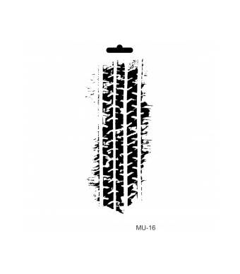"Трафарет ""Шина"", коллекция ""Mix media"", 10*25 см - Трафареты"