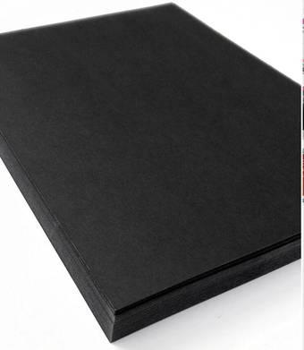 Бумага чёрная для пастели или акрила, 230 г/м2, 544 x 795 мм - Бумага
