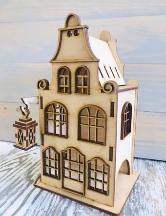 Чайный домик с фонариком,  14*12*24 см - Чайные домики