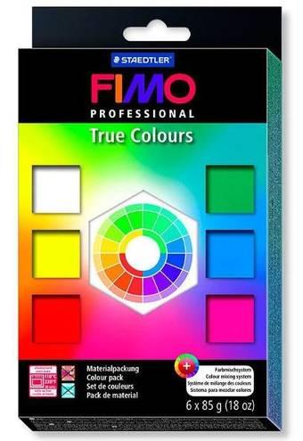 Набор Fimo professional 6 шт. по 85 гр. - Запекаемая полимерная глина